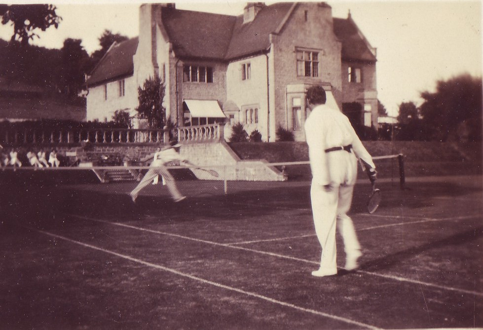 1929 Dorset The Gables tennis party